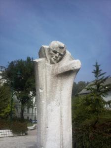 Ljubomir Denković, Monument to Đure Đaković, 1972.