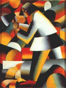 Malevich, The Wood-Cutter, 1912