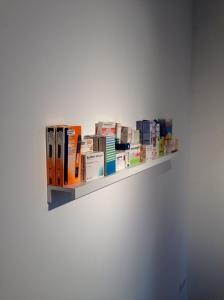 "Jusuf Hadžifejzović, ""Propety of Emptiness"" installation (detail), 2014"